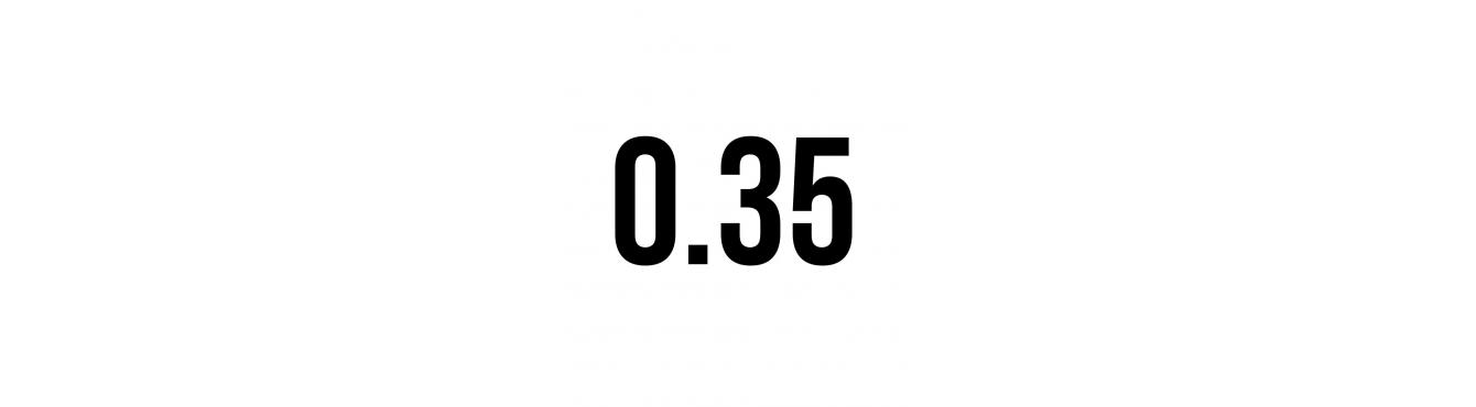 CARTUCHOS POISON MAGNUM 0,35mm