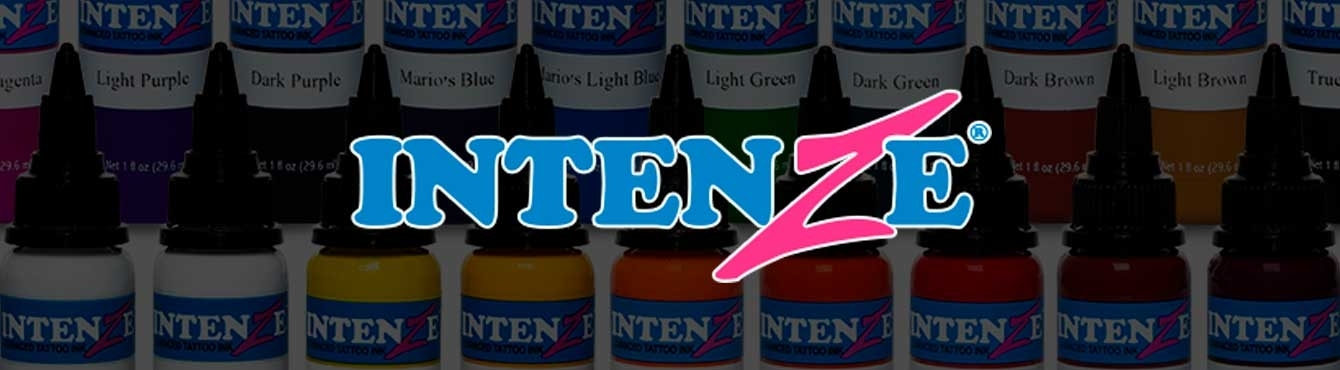Tintas de tatuar Intenze Ink  | Grip Tattoo Supplies