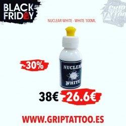 TINTA NUCLEAR WHITE‼️ Al 30% de descuento❕ cómprala o te arrepentirás🤣🤣 Solo hasta el 30 de noviembre. Disponible en... www.griptattoo.es www.griptattoo.es www.griptattoo.es ➖➖➖➖➖➖➖➖➖➖➖➖➖  NUCLEAR WHITE INK‼️At 30% discount❕buy it or you will regret it🤣  Only until November 30.  Available in...  www.griptattoo.es  www.griptattoo.es  www.griptattoo.es #griptattoosupplies #griptattoo #griptattoosupply #spainsupply #spaintattoosupplies #tintatatuar #tattooink #nuclearwhite #nuclearwhiteink