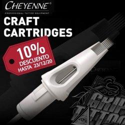 🅿🆁🅾🅼🅾🅲🅸🅾🅽!!! Sabemos que os encantan los cartuchos CRAFT de CHEYENNE, por eso queremos ofreceros un 10% de descuento en todas las agrupaciones por tiempo limitado!!  Disponible en... www.griptattoo.es www.griptattoo.es www.griptattoo.es ➖➖➖➖➖➖➖➖➖➖➖➖➖ 🅿🆁🅾🅼🅾🆃🅸🅾🅽 !!! We know you love CHEYENNE CRAFT cartridges, that's why we want to offer you a 10% discount on all bundles for a limited time !!  Available in...  www.griptattoo.es  www.griptattoo.es  www.griptattoo.es #griptattoo #griptattoosupplies #tattoosupply #spaintattoo #cheyennetattooequipment #craft #cheyennecartridges #cartdriges #tattoo #materialtatuaje #materialparatatuar